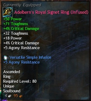 Gw2 unused agony infusion slot